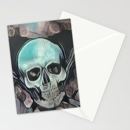 Love & death Stationery Cards