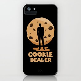 Cookie Dealer Chocolate Chip Funny Baking design iPhone Case