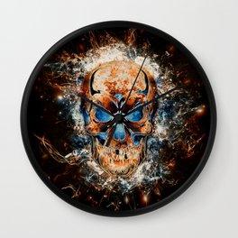 Skull Origins Wall Clock
