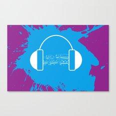The Music Brain Canvas Print