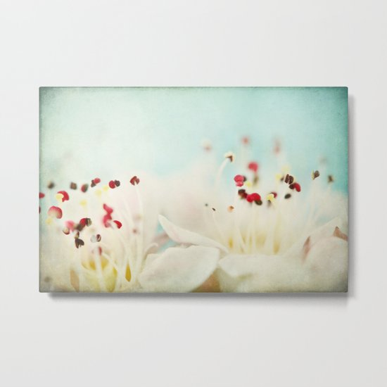 Confetti Bloom Metal Print