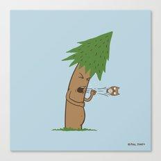 Tree Cough Canvas Print