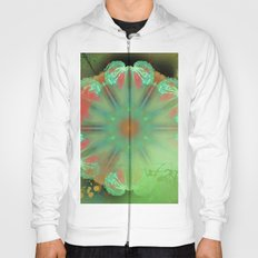 Painted angel wings kaleidoscope Hoody