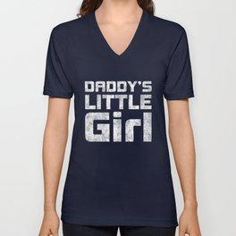 Daddy's little girl Unisex V-Neck