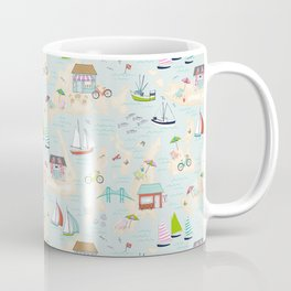 Summer On The Islands Coffee Mug