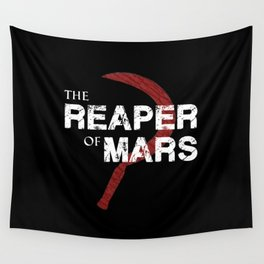 The Reaper of Mars Wall Tapestry