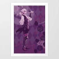 fire emblem Art Prints featuring Fire Emblem Fates Joker by Cycha