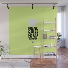 Real Grill Chefs are from London T-Shirt Dl16l Wall Mural