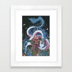 Haku Framed Art Print