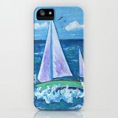 Sail Boat iPhone (5, 5s) Slim Case