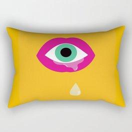 Eye am drooling for you Rectangular Pillow