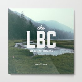 The LBC Metal Print