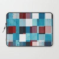 patriotic Laptop Sleeves featuring Patriotic Grid by plaidGecko