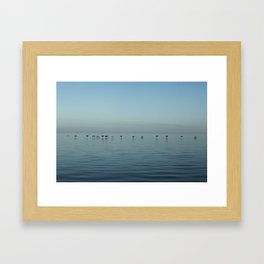 In Flight (Color) Framed Art Print