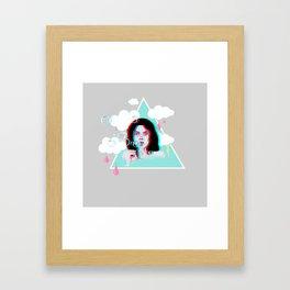 Bubble Bliss Framed Art Print
