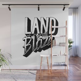 Land of the Blaze Wall Mural