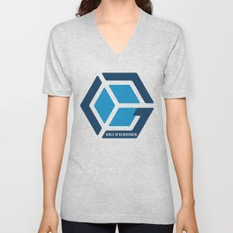 Girls in Blockchain Unisex V-Neck