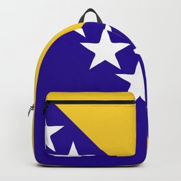 Bosnia and Herzegovina flag emblem Backpack