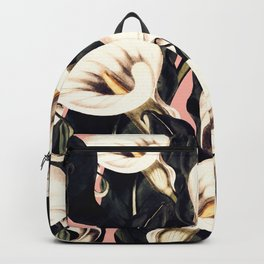 Pattern Calla lily flower Backpack