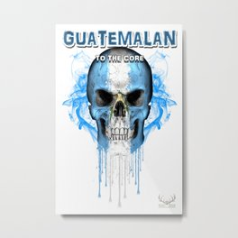 To The Core Collection: Guatemala Metal Print
