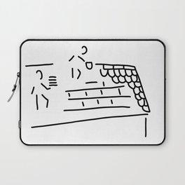 roofer carpenter brick Laptop Sleeve