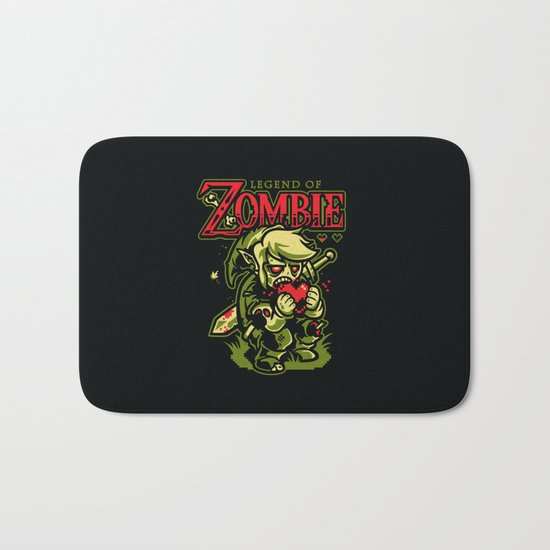 Legend of Zombie Bath Mat
