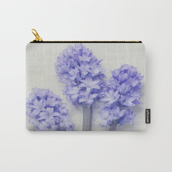 Bright Lilac Hyacinths Carry-All Pouch