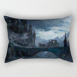 Dark castle Rectangular Pillow