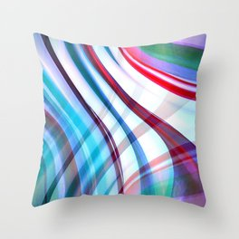 Candy Abstract Throw Pillow
