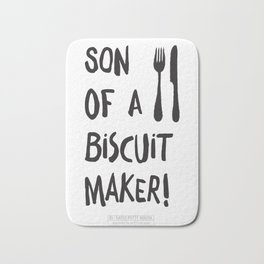Son of a biscuit maker! Bath Mat