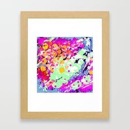 Jungle Jive Framed Art Print