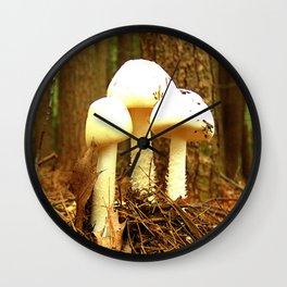 Mushroom R Wall Clock