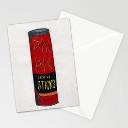 Pix, Pix, Pick Up Sticks Stationery Cards