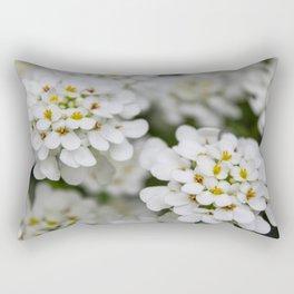 Pretty in White Rectangular Pillow