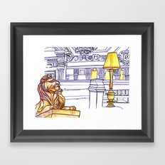 Love NYC's everything No.3 Framed Art Print