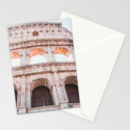 Roman Colosseum   Europe Italy Rome Architecture Ancient Ruins City Photography Stationery Cards