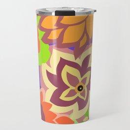CAMBRIA, ART DECO FLORALS: MURANO MAGIC Travel Mug