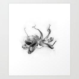Pacific Octopus Art Print