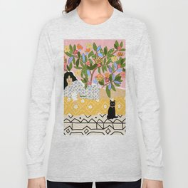 Paint Me Like One of Your French Ladies Long Sleeve T-shirt