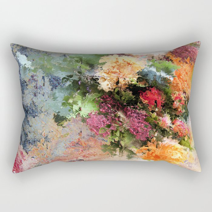Four Seasons in One Day Rectangular Pillow