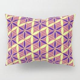 Flower of Life Pattern 15 Pillow Sham