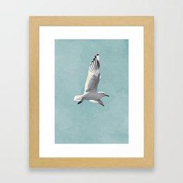 SEAGULL by Lo Lah Studio Framed Art Print