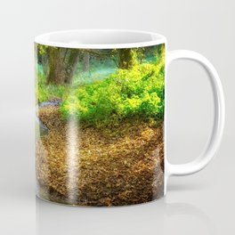 Forest with River Faury Landscape Coffee Mug