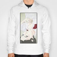 cherry Hoodies featuring cherry by SEVENTRAPS