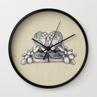 bali Wall Clocks featuring Bali Dreaming! by Jason Chrisp