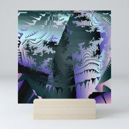 Satin Fragments Mini Art Print