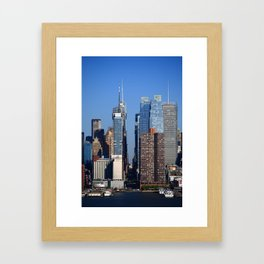 New York City Block 2012 Framed Art Print