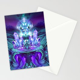 Expanding horizons - Visionary - Fractal - Manafold Art Stationery Cards