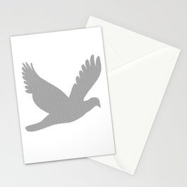 L'oiseau gris Stationery Cards