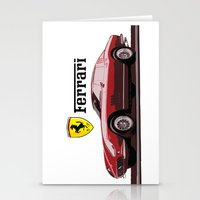 ferrari Stationery Cards featuring Ferrari 275  by kartalpaf